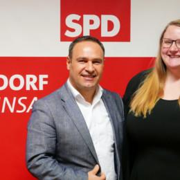 Die neue Doppelspitze: Lena Lange und Ahmet Kuyucu