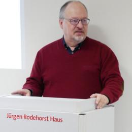 Gerald Hinz berichtet aus der Arbeit der Stadtratsfraktion