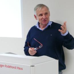 Rudi Alker berichtet von der SPD-Rgionsfraktion