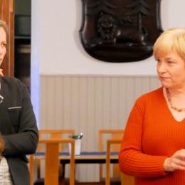 Thordies Hanisch und Caren Marks