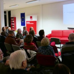 Viele interessierte Zuschauer im Jürgen-Rodehorst-Haus