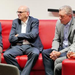 Gerd Müller, Frank Wersebe, Ulrich Pigulla und Ahmet Kuyucu