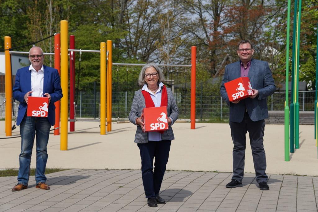 Werner Backeberg, Helga Laube-Hoffmann, Matthias Paul