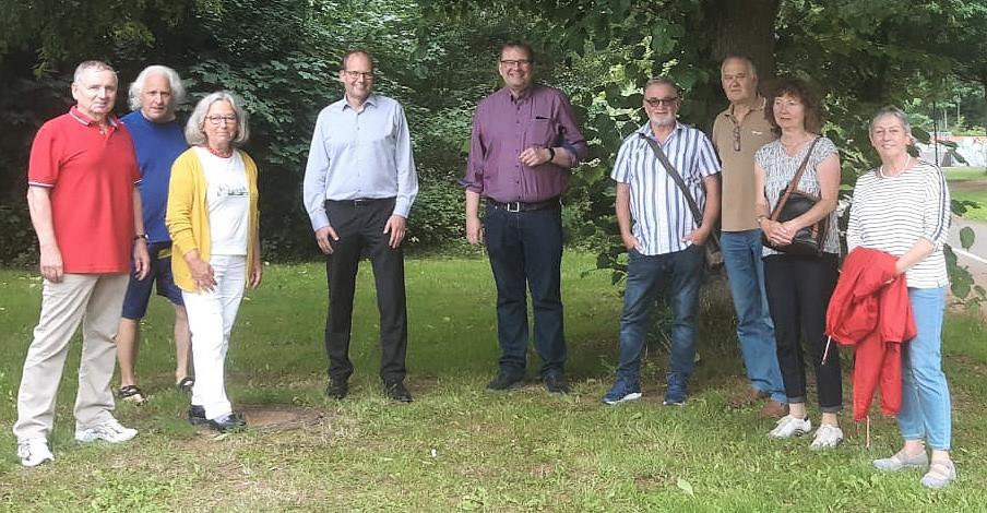 Ulf-Birger Franz und SPD-Politiker:innen