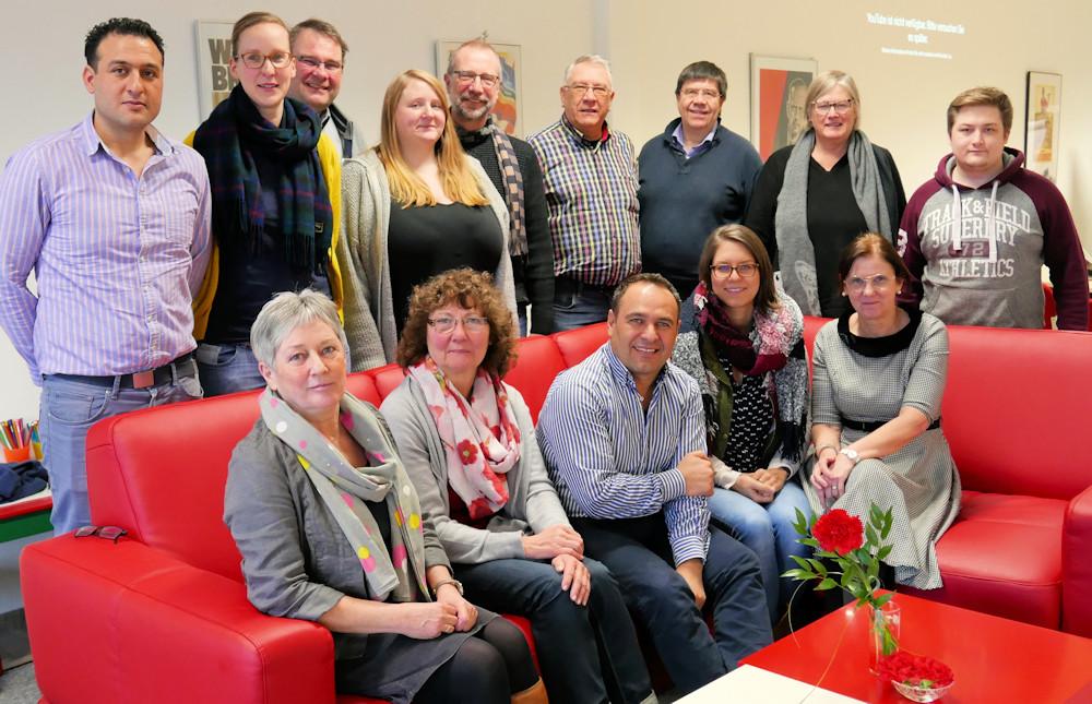 Vorstand des Ortsvereins SPD Burgdorf