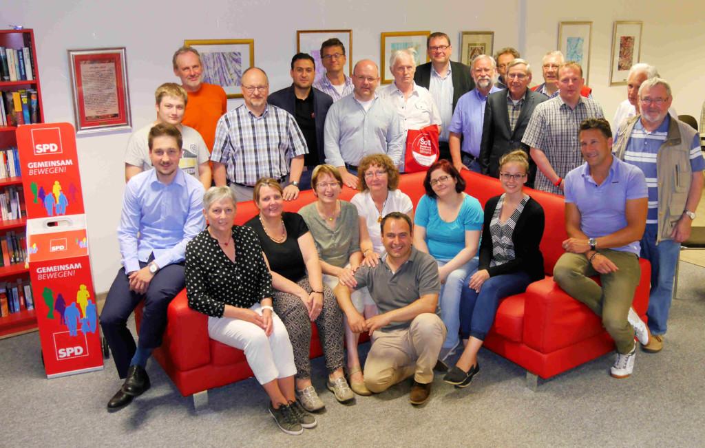 Kandidaten und Kandidatinnen für die Stadtratswahl 2016