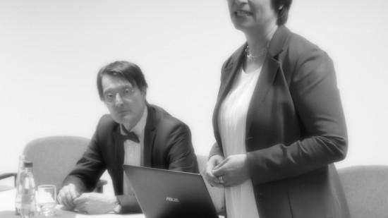 Karl Lauterbach und Caren Marks