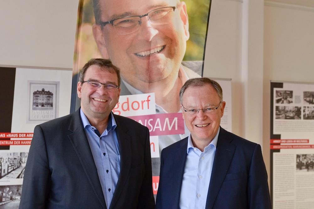 Matthias Paul und Stephan Weil